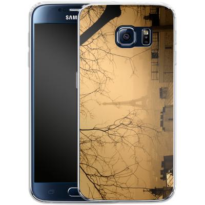 Samsung Galaxy S6 Silikon Handyhuelle - Paris von caseable Designs