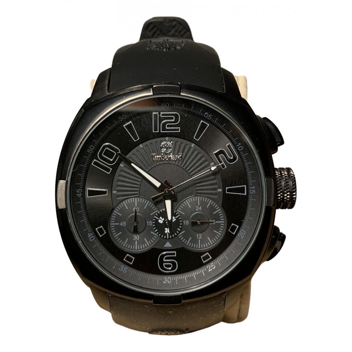 Timberland \N Uhr in  Schwarz Stahl