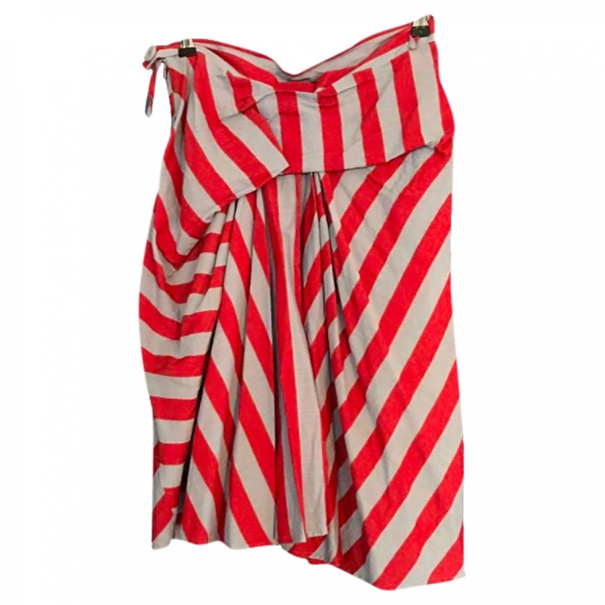 Vivienne Westwood Red Label - Jupe   pour femme en coton - rouge