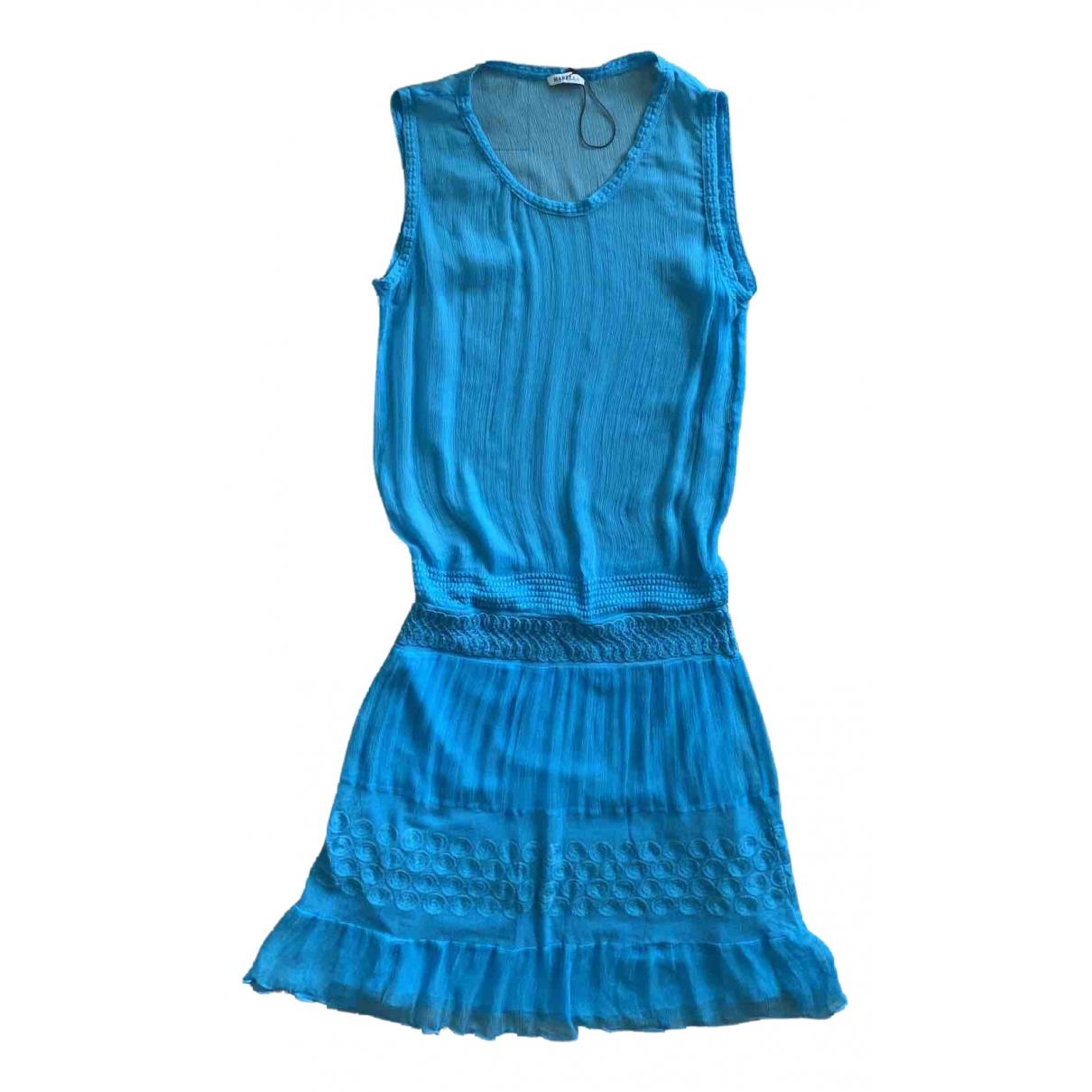Marella \N Kleid in  Tuerkis Seide