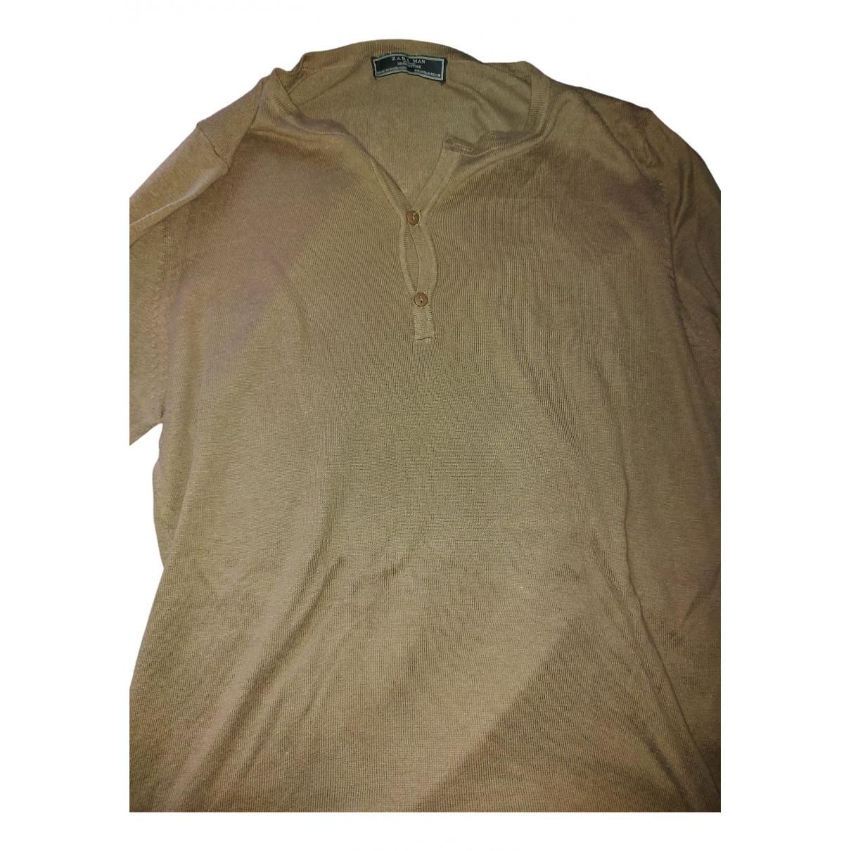 Zara \N Pullover.Westen.Sweatshirts  in  Gruen Synthetik