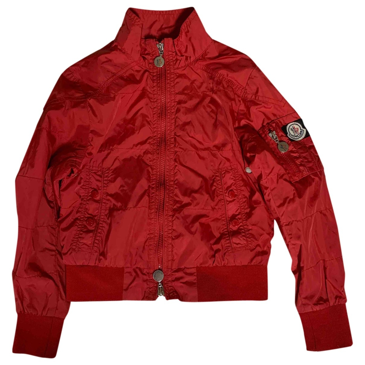 Moncler Classic Red jacket & coat for Kids 8 years - up to 128cm FR