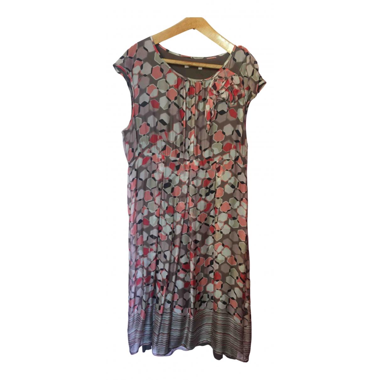 Marella \N Kleid in  Beige Seide