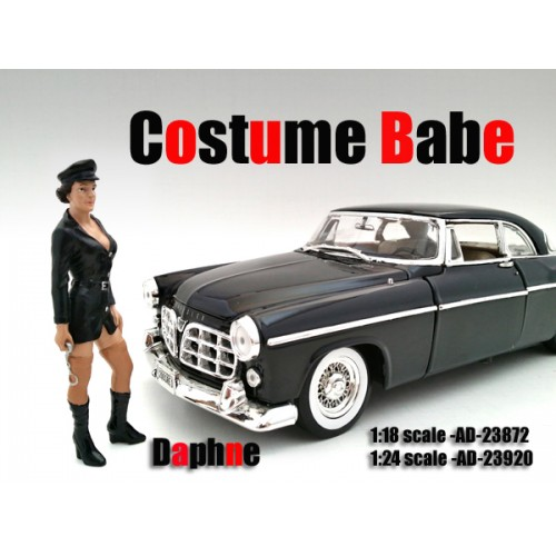 Costume Babe Daphne Figure For 118 Scale Models by American Diorama