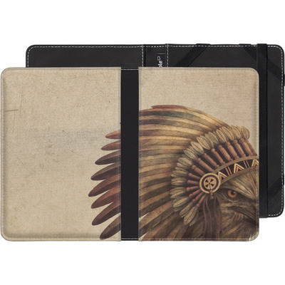 Kobo Glo HD eBook Reader Huelle - Eagle Chief von Terry Fan