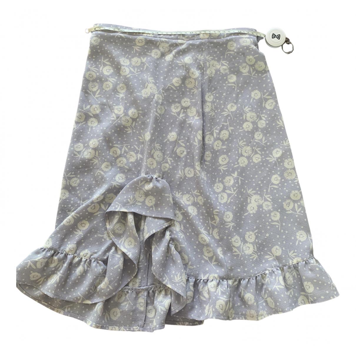 Rouje Spring Summer 2019 Purple skirt for Women 34 FR