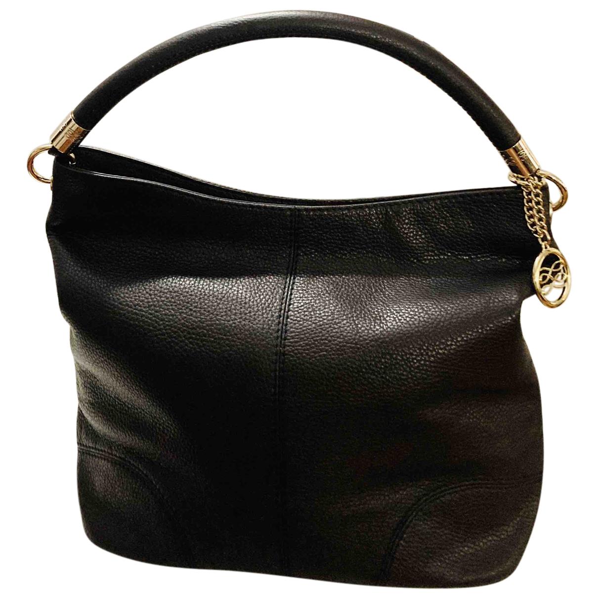 Lancel French Flair Handtasche in  Braun Leder