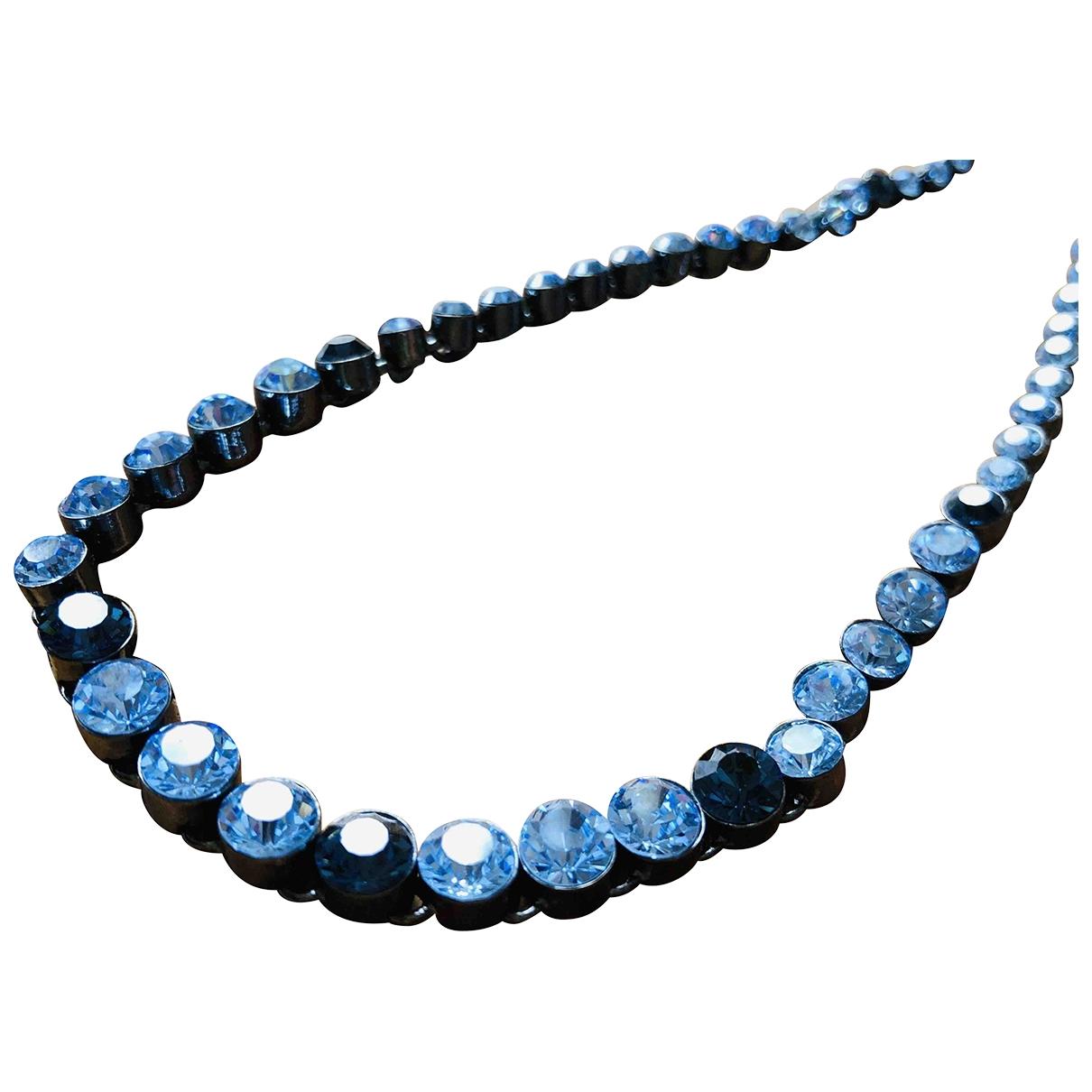 Givenchy - Collier   pour femme en metal - bleu