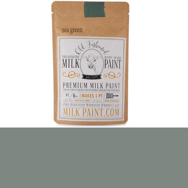 Sea Green Powdered Milk Paint Water Based Pint