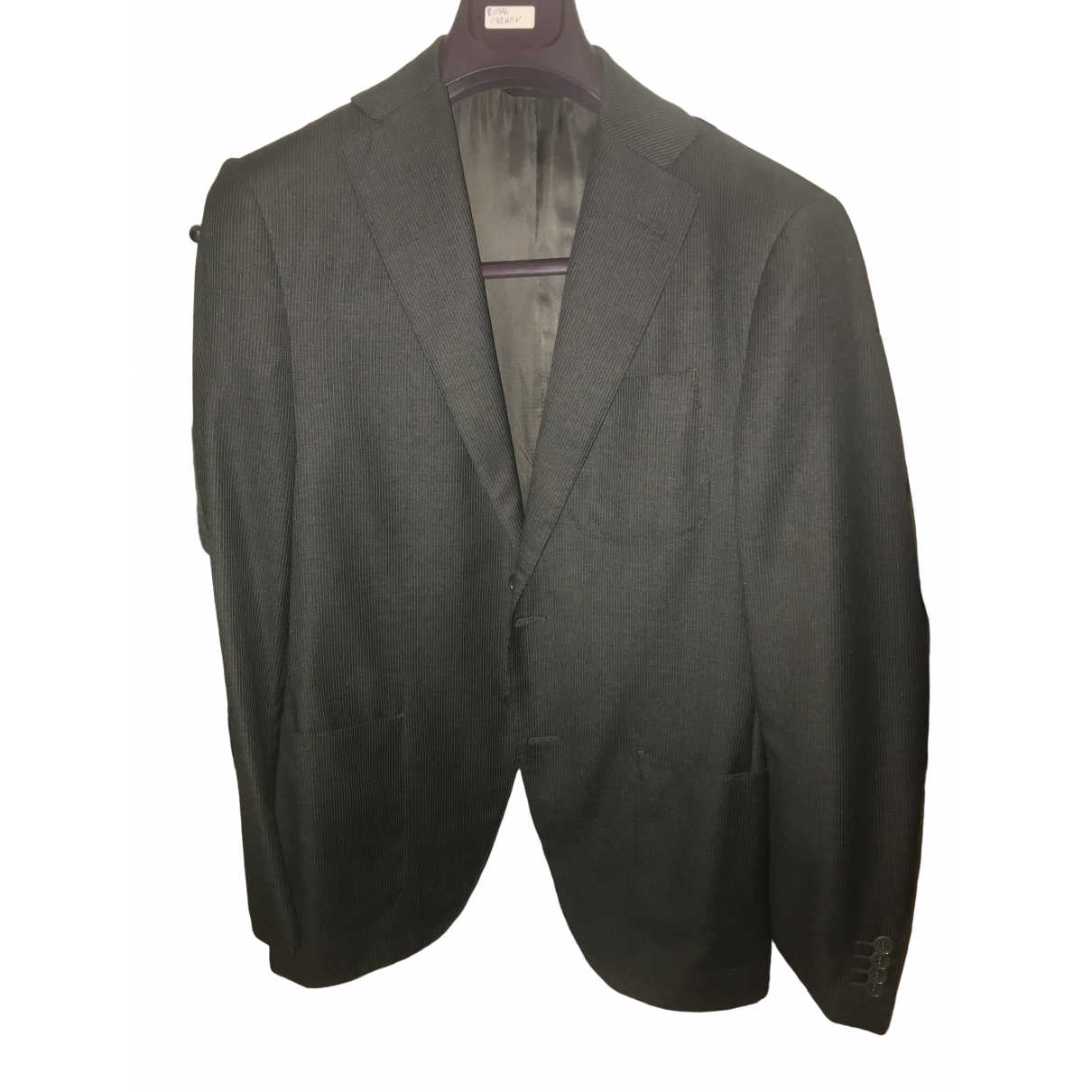 Loro Piana \N Anthracite Wool jacket  for Men 46 IT