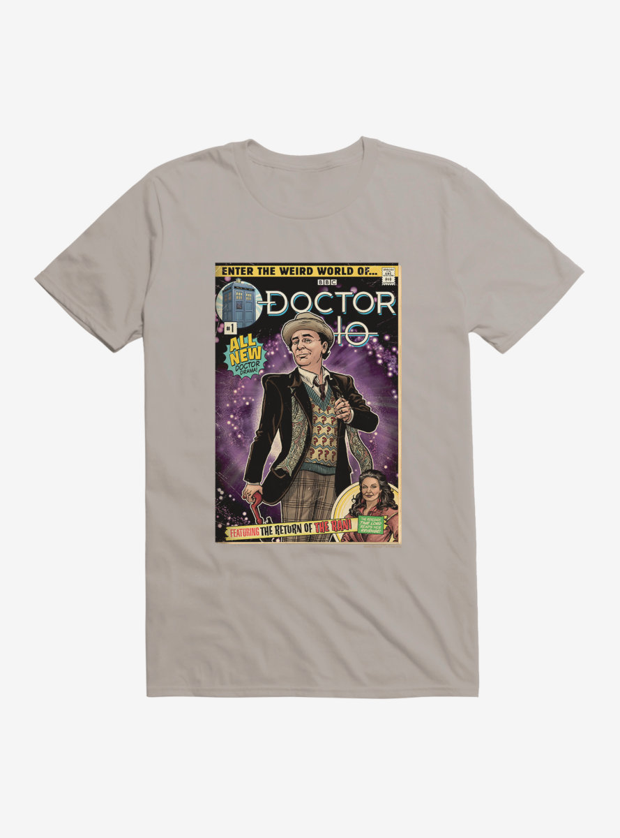 Doctor Who Seventh Doctor Comic T-Shirt