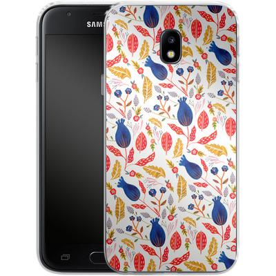 Samsung Galaxy J3 (2017) Silikon Handyhuelle - Seasons Change von Iisa Monttinen