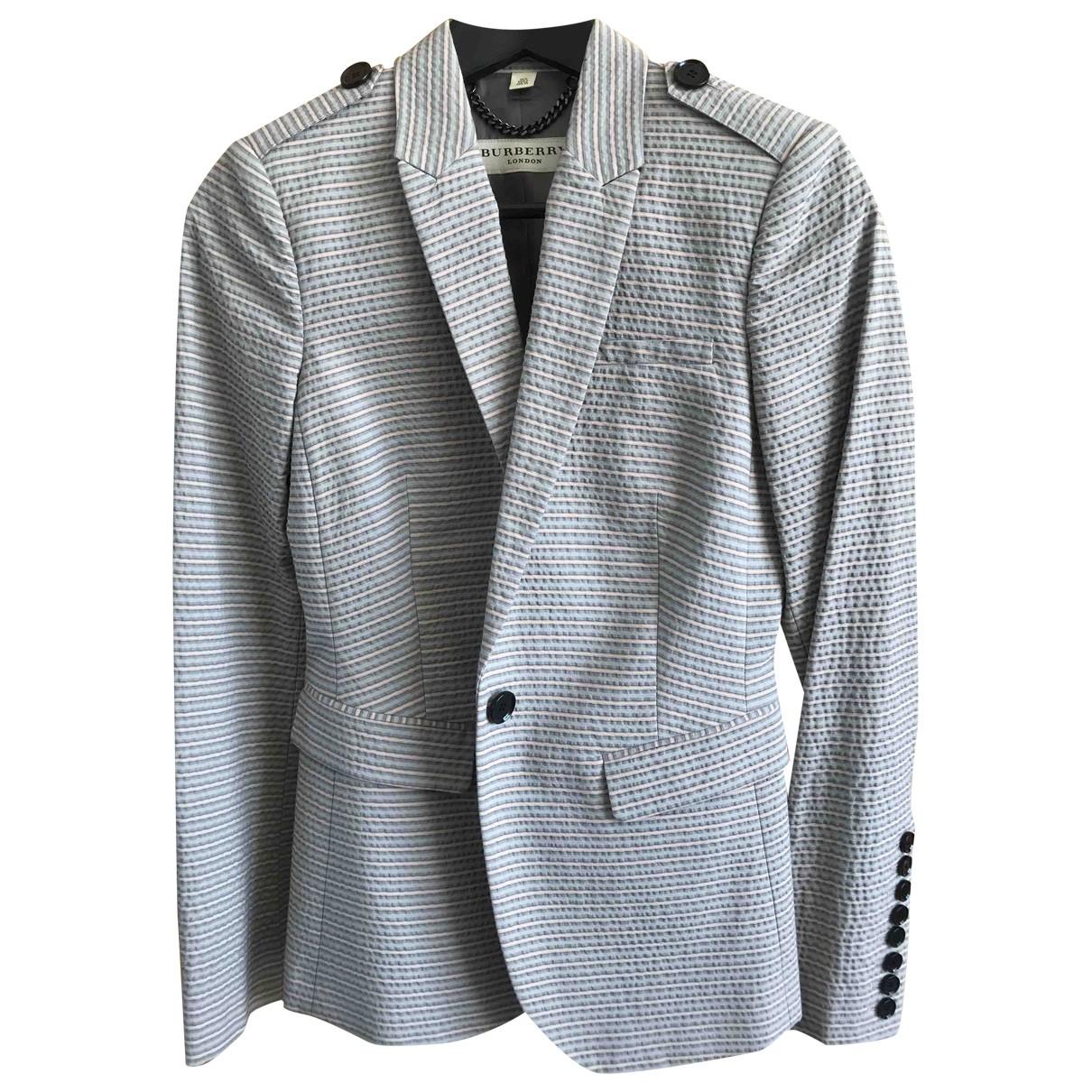 Burberry \N Grey Cotton jacket for Women 6 UK