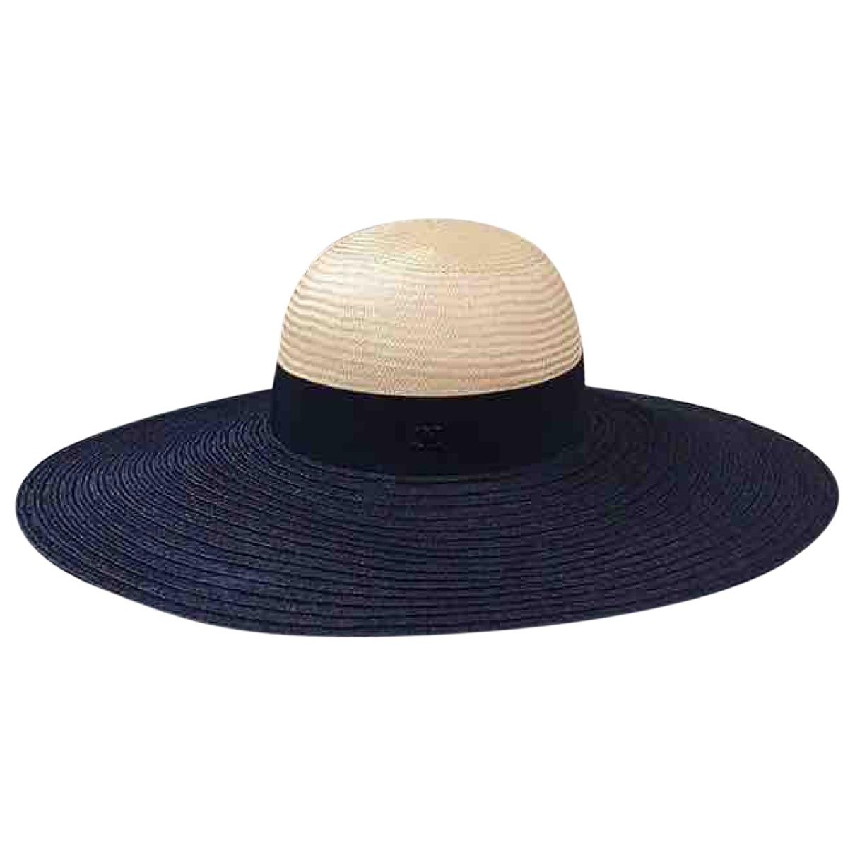 Chanel \N Black Wicker hat for Women M International