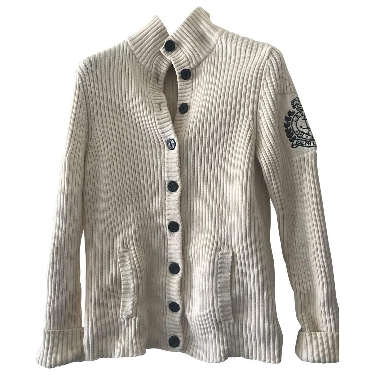 Lauren Ralph Lauren \N Ecru Cotton jacket for Women L International