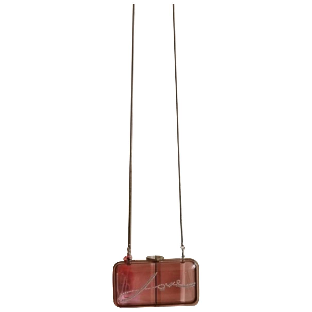 Bolsos clutch en Plastico Rosa Giambattista Valli X H&m