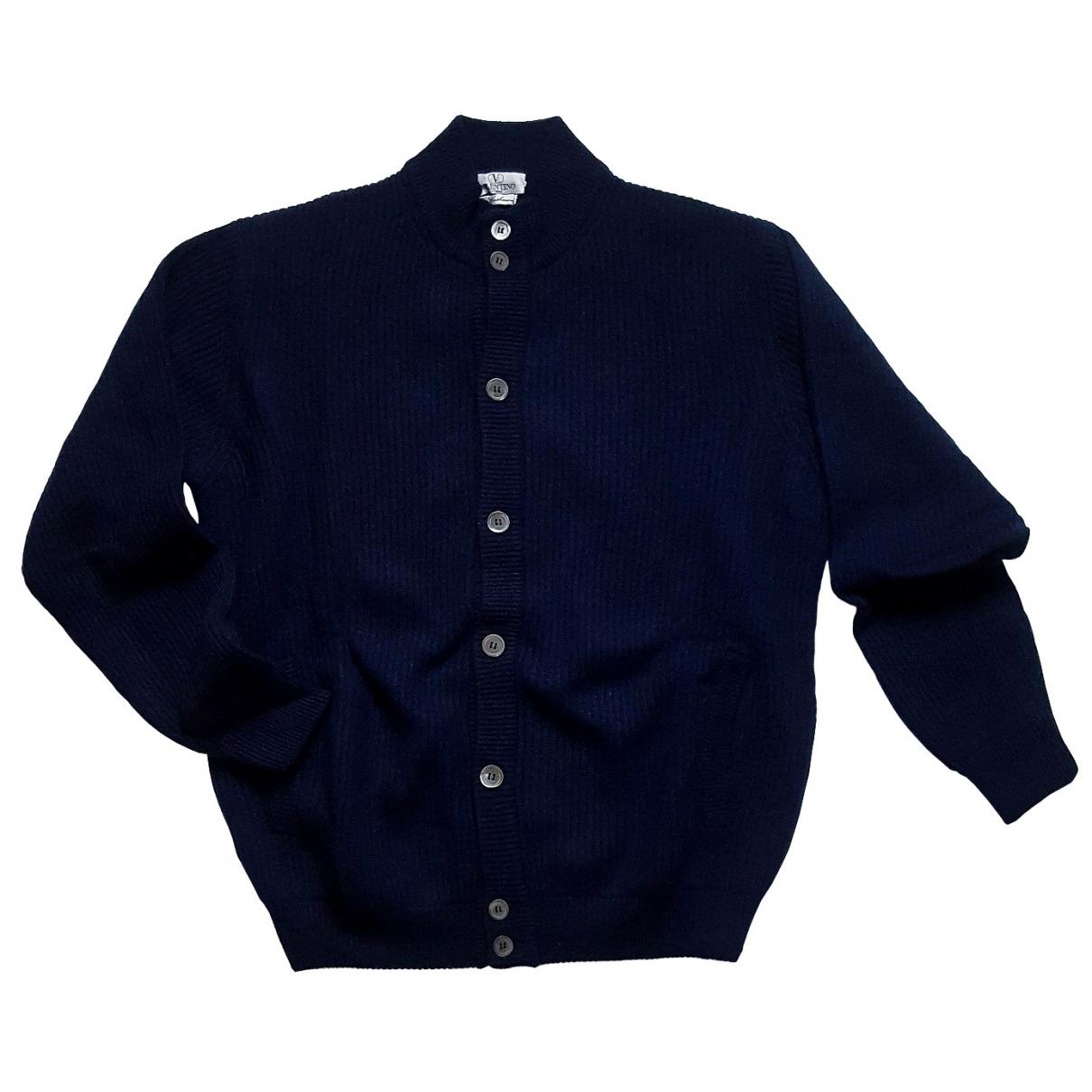 Valentino Garavani \N Pullover.Westen.Sweatshirts  in  Blau Kaschmir