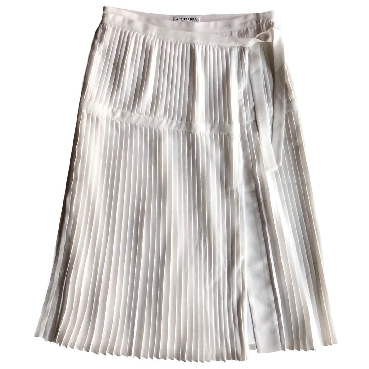 Altuzarra \N White skirt for Women 36 FR