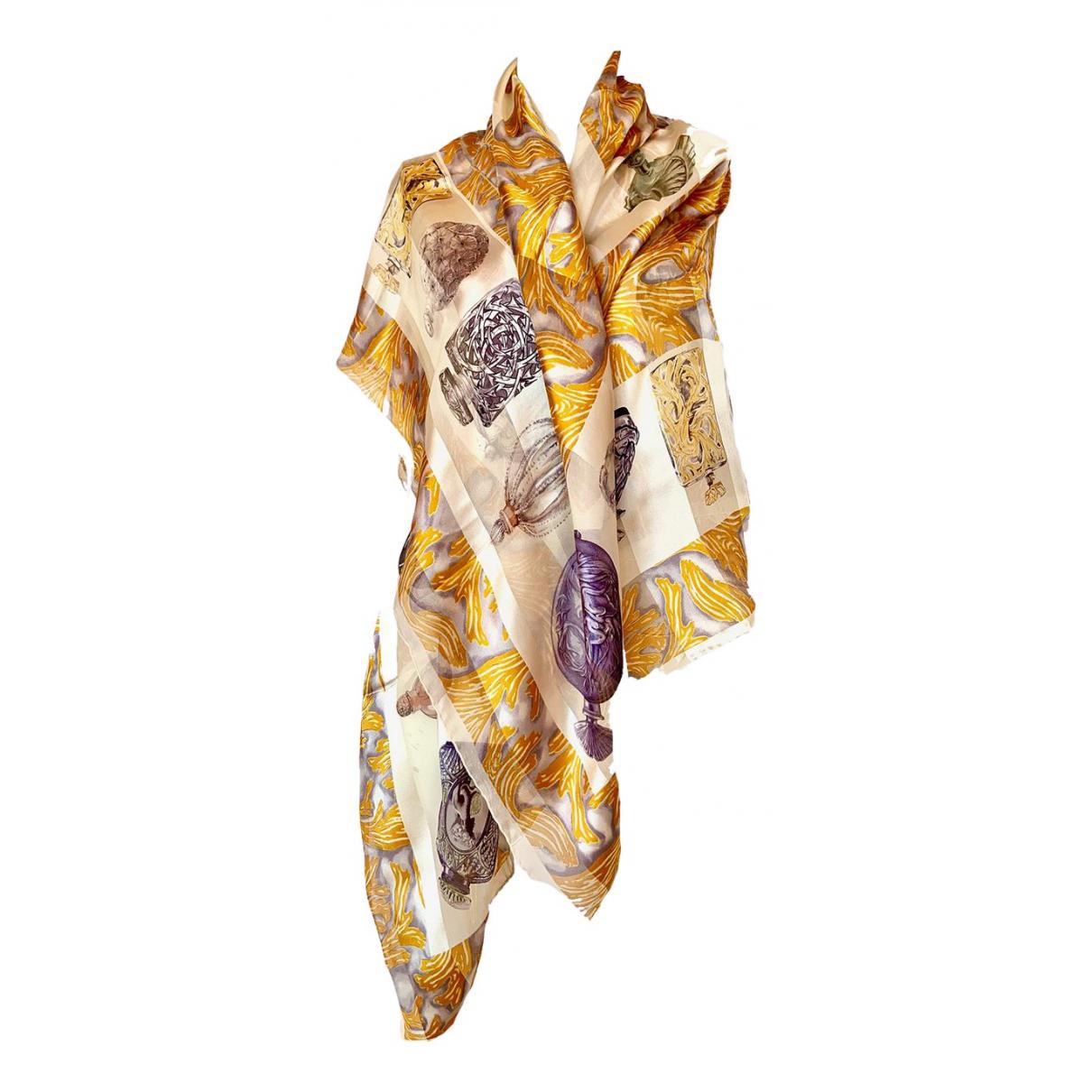 Lalique \N Schal in  Bunt Seide