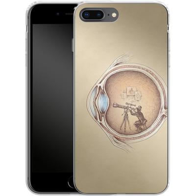 Apple iPhone 8 Plus Silikon Handyhuelle - Extraordinary Observer von Enkel Dika