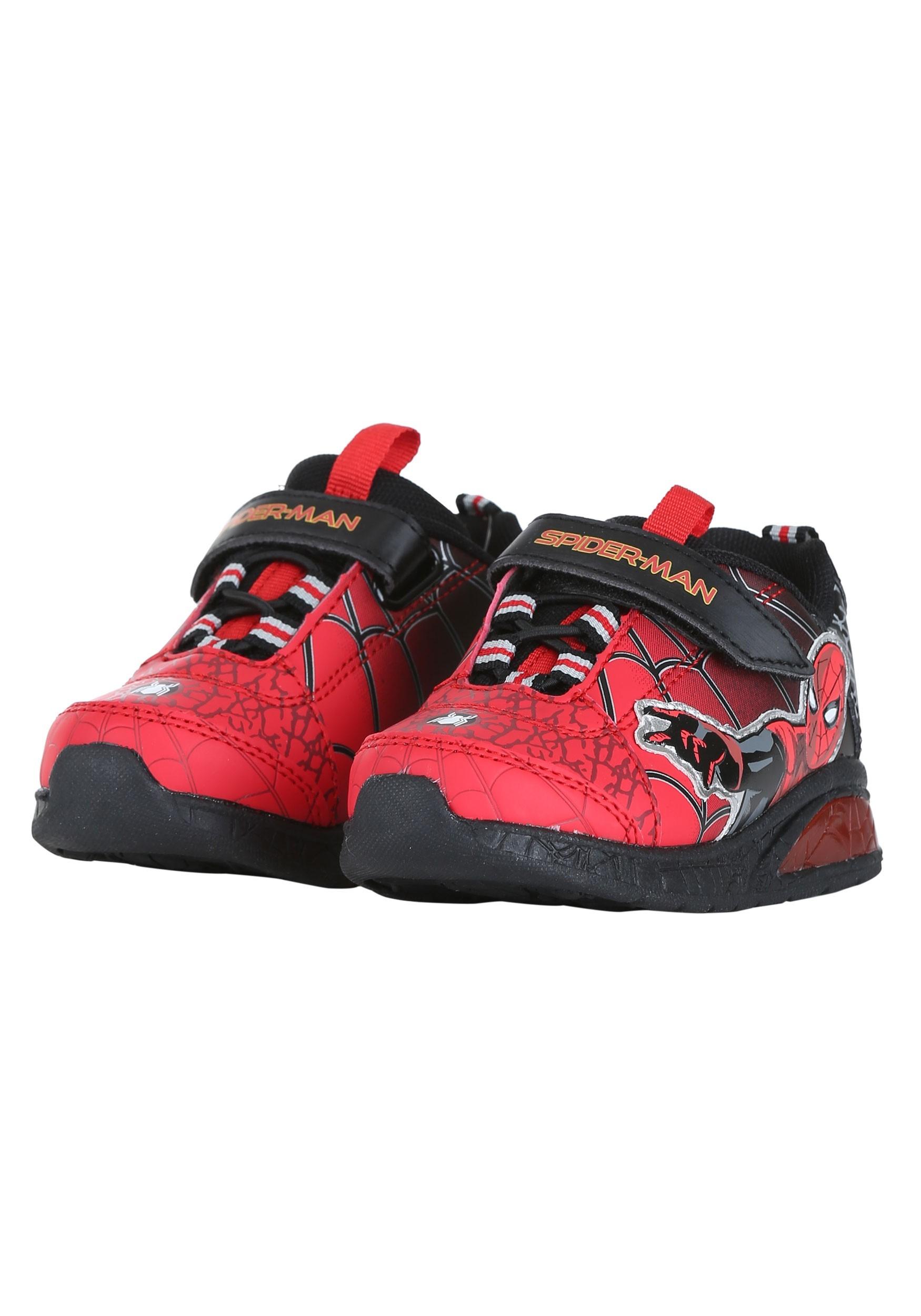 Spider-Man Lighted Athletic Shoe for Kids