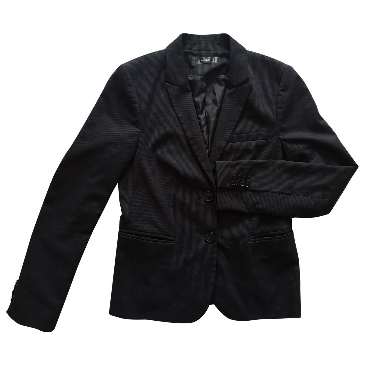 Hallhuber \N Jacke in  Schwarz Polyester