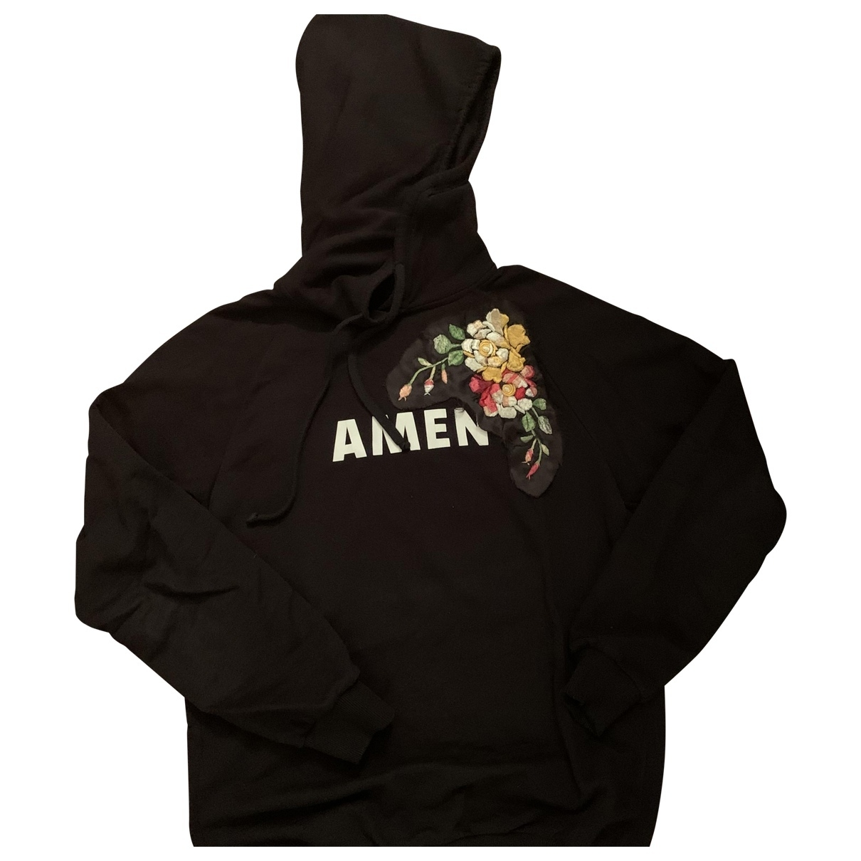 Amen Italy \N Black Cotton Knitwear for Women 46 FR