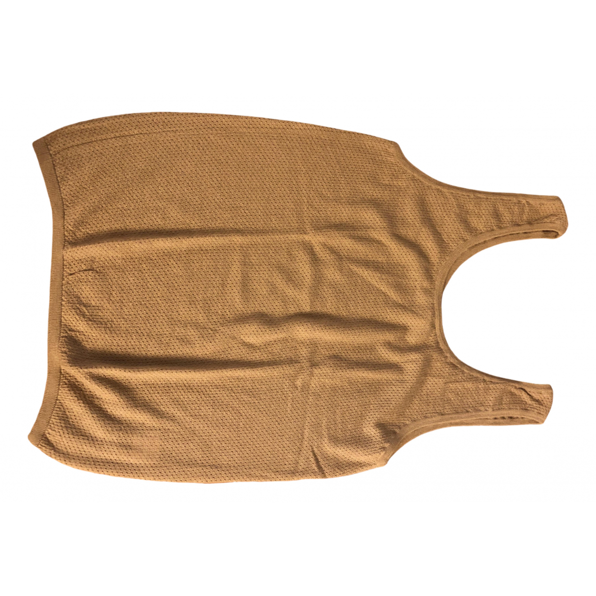 Yves Saint Laurent - Top   pour femme en cachemire - beige