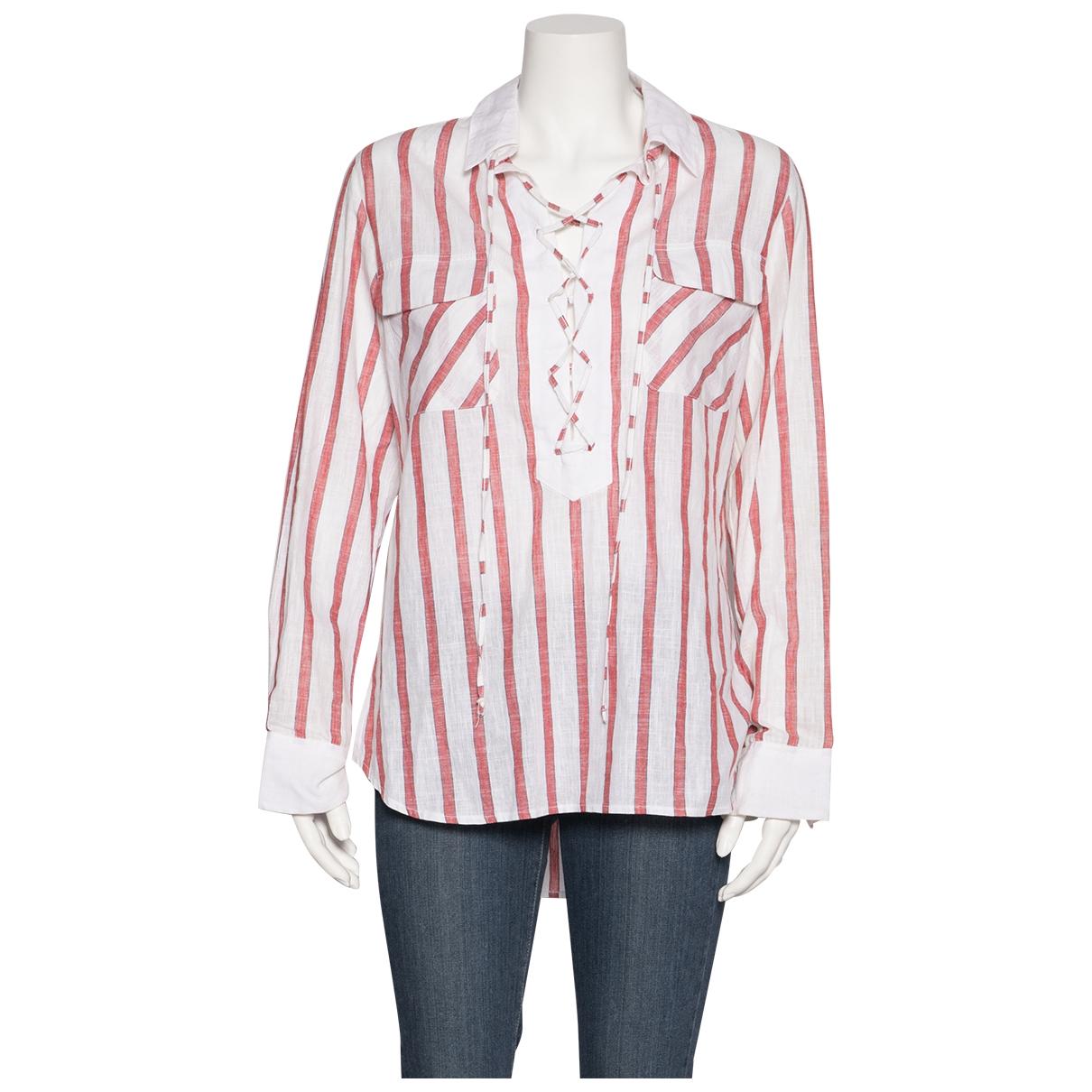Gul Hurgel - Top   pour femme en coton - multicolore