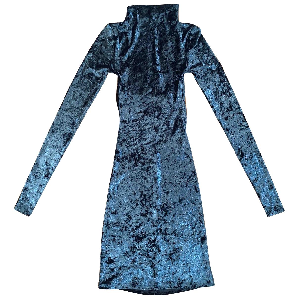 Caroline Constas \N Kleid in  Gruen Polyester