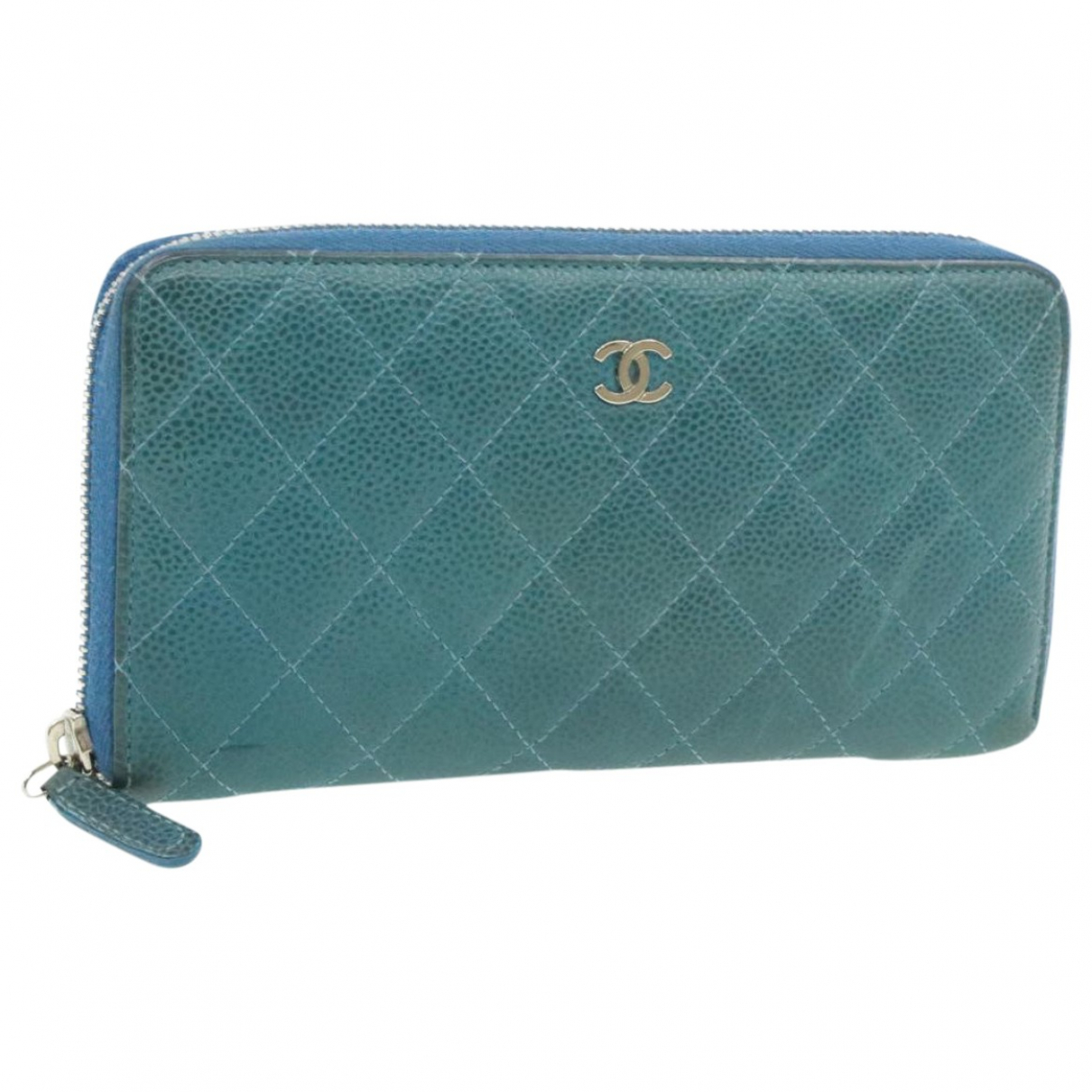 Chanel - Foulard   pour femme - bleu