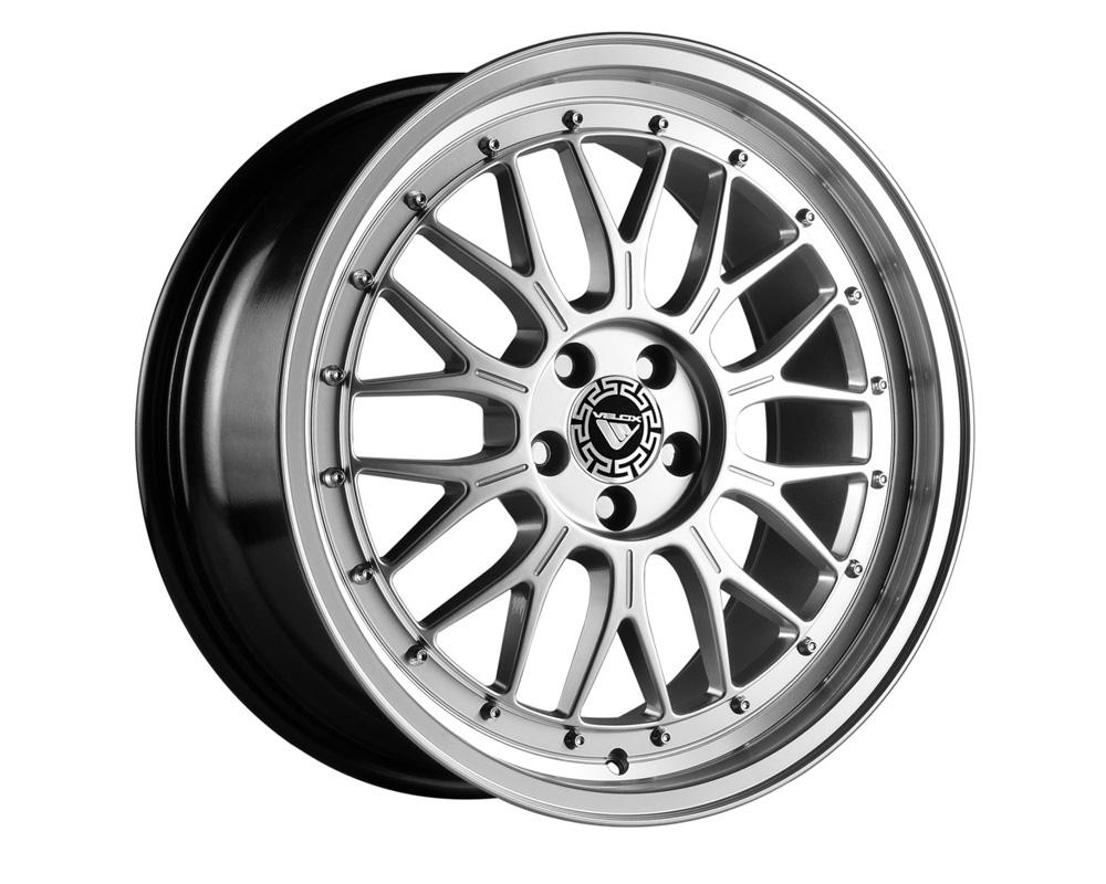 Velox Flight Hyper Silver Wheel 16x7 4x114.3 40