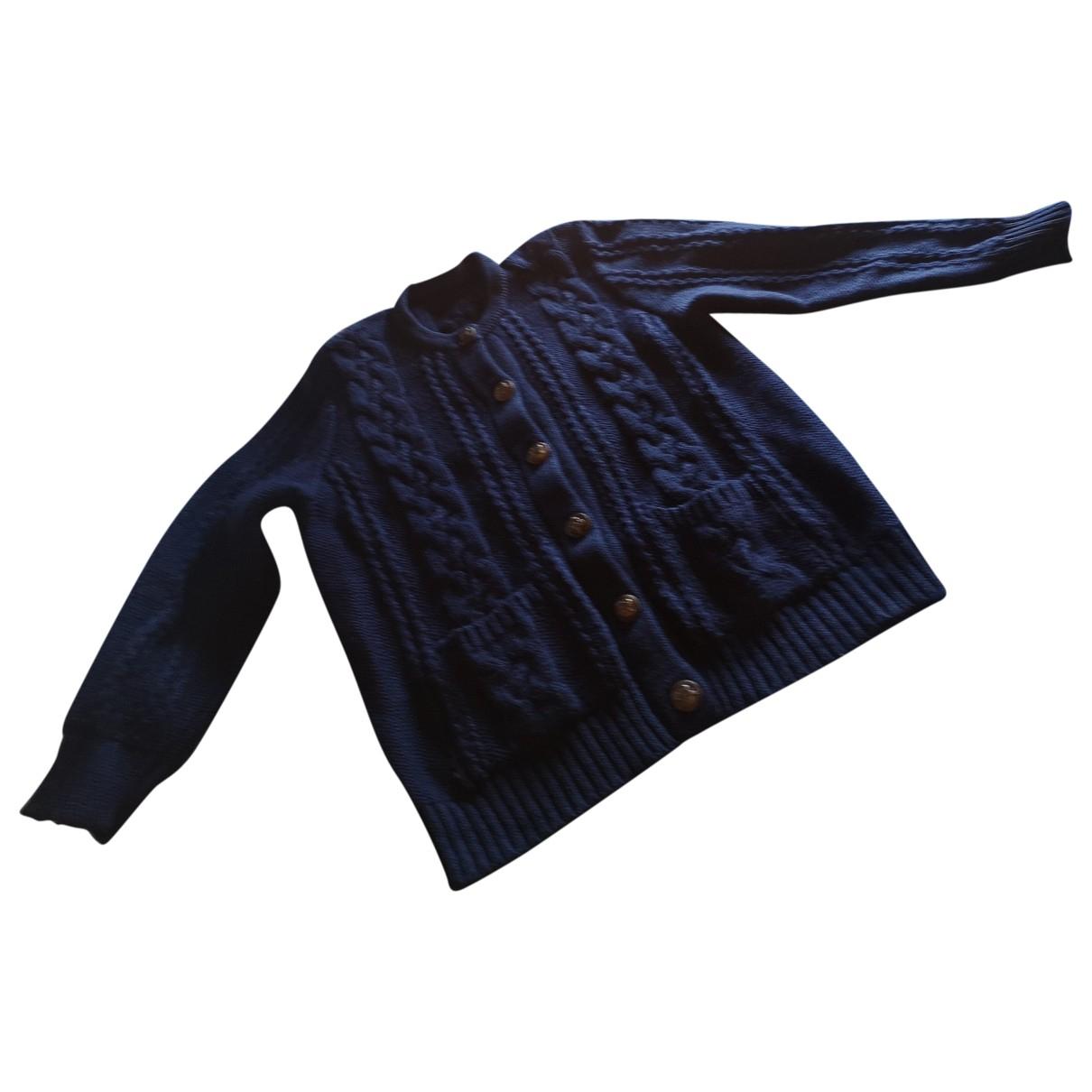 Hermès \N Navy Wool Knitwear for Women 40 FR