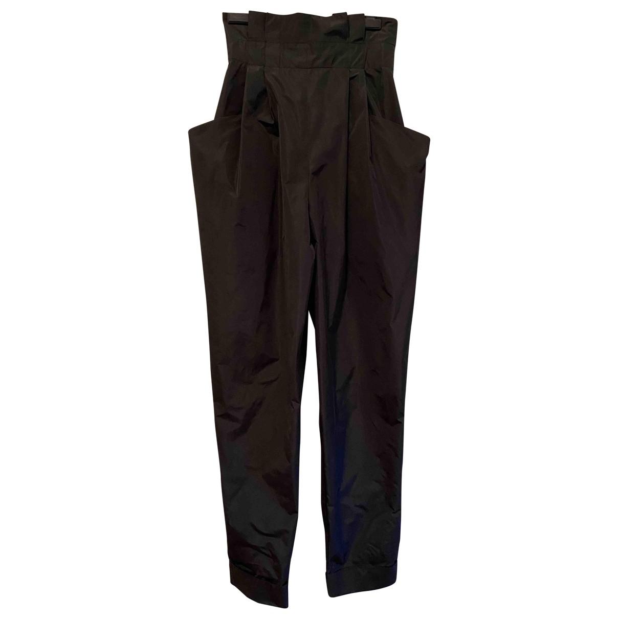 Pantalon en Poliester Negro Philosophy Di Lorenzo Serafini