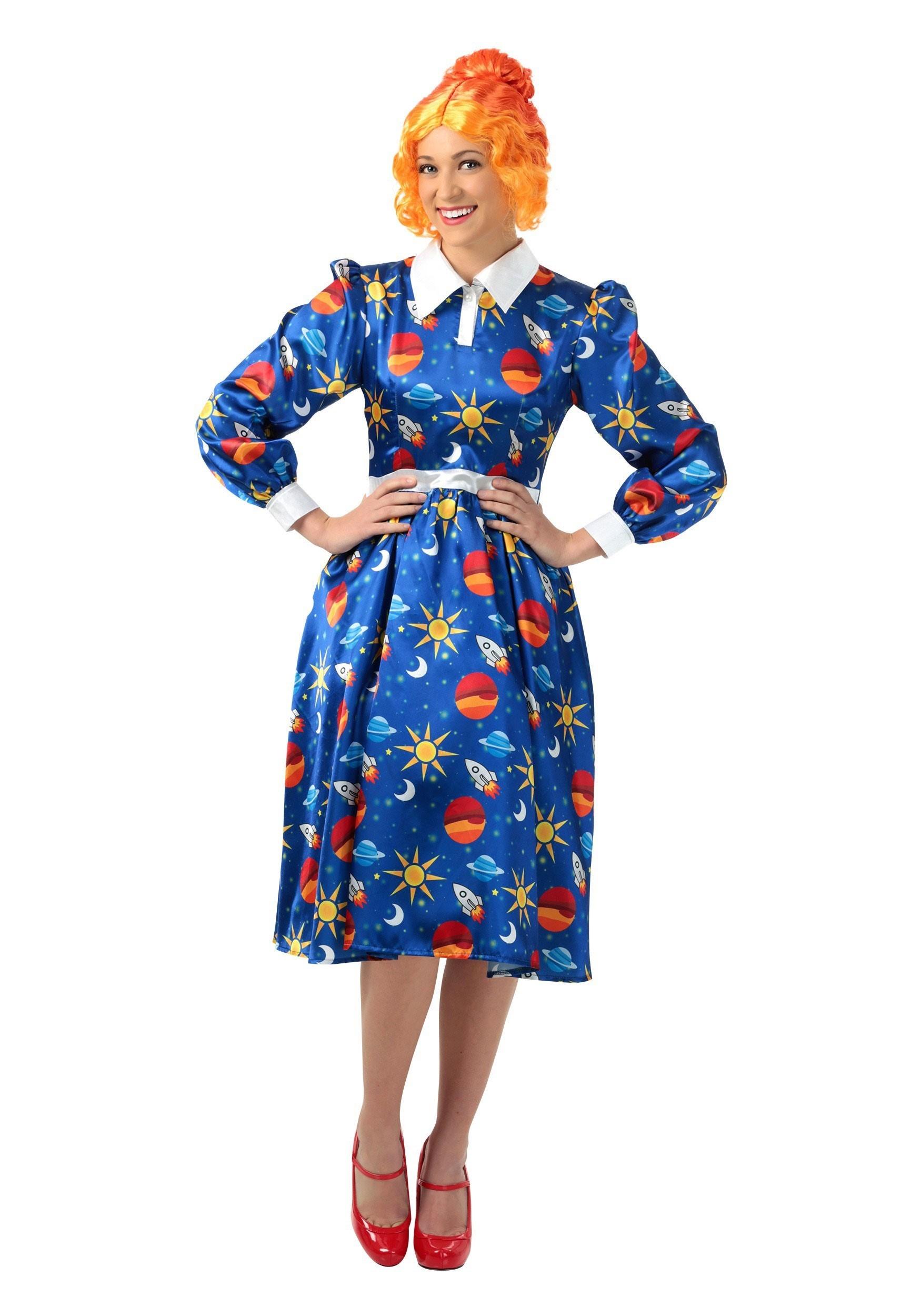 The Magic School Bus Miss Frizzle Plus Size Costume for Women