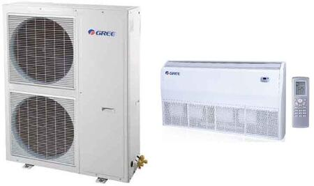Single Zone Mini Split System with with 39500 BTU Cooling Capacity  44000 BTU Heating Capacity and Floor/Ceiling Indoor