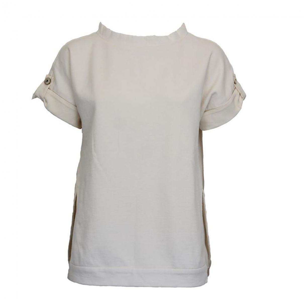 Brunello Cucinelli \N Beige Cotton  top for Women One Size International