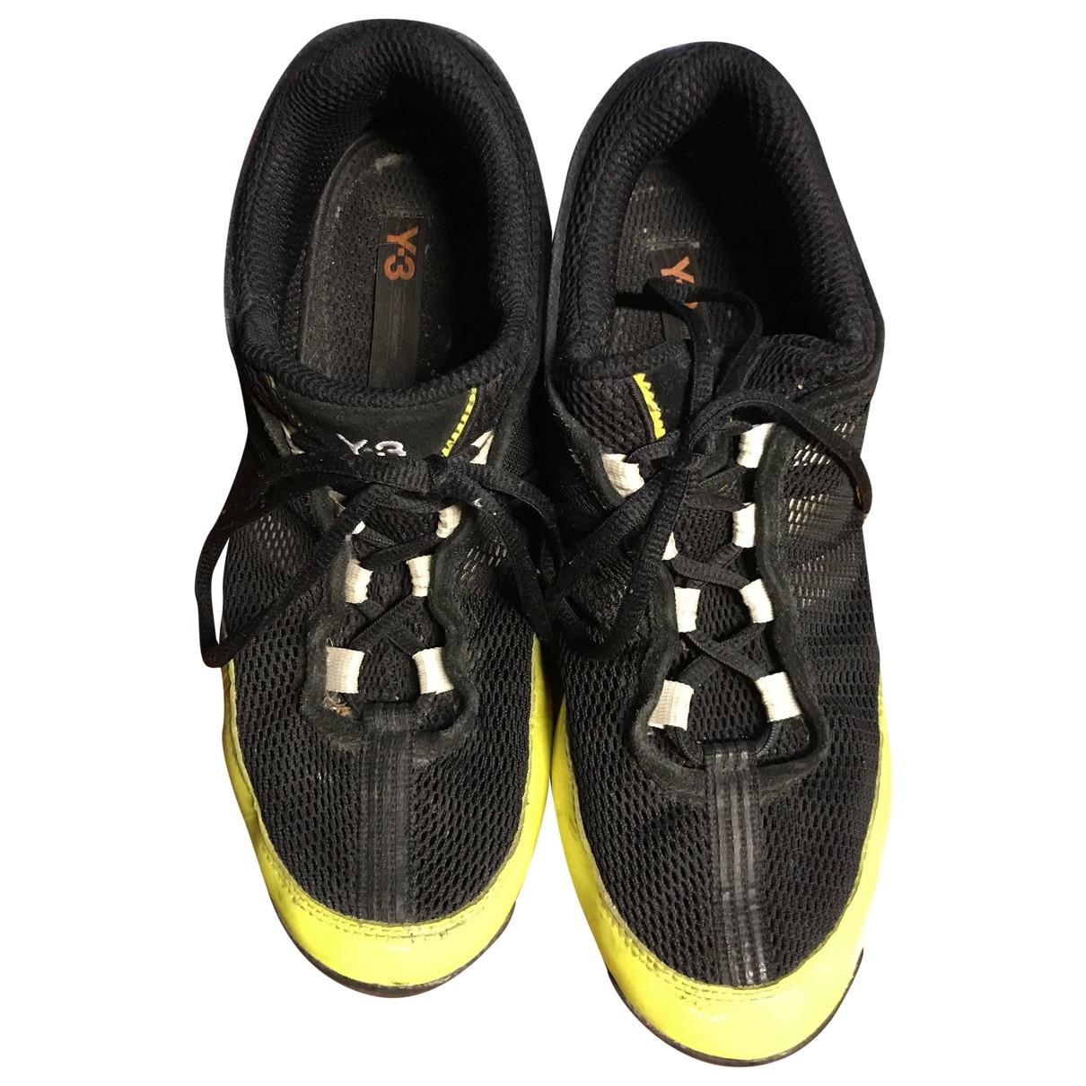 Y-3 \N Sneakers in  Schwarz Kunststoff