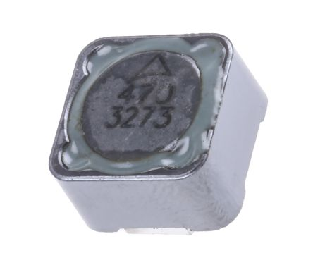 EPCOS B82477-G4 Series Shielded Wire-wound SMD Inductor with a Ferrite Core, 47 μH ±20% Wire-Wound 2.5A Idc