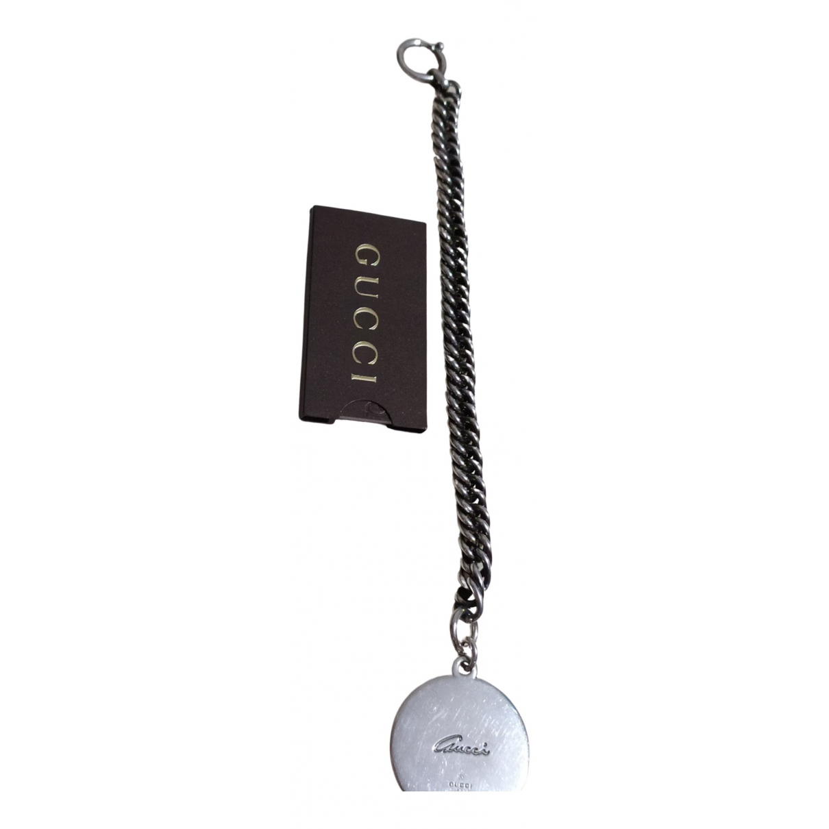 Gucci - Bracelet   pour femme en argent - argente