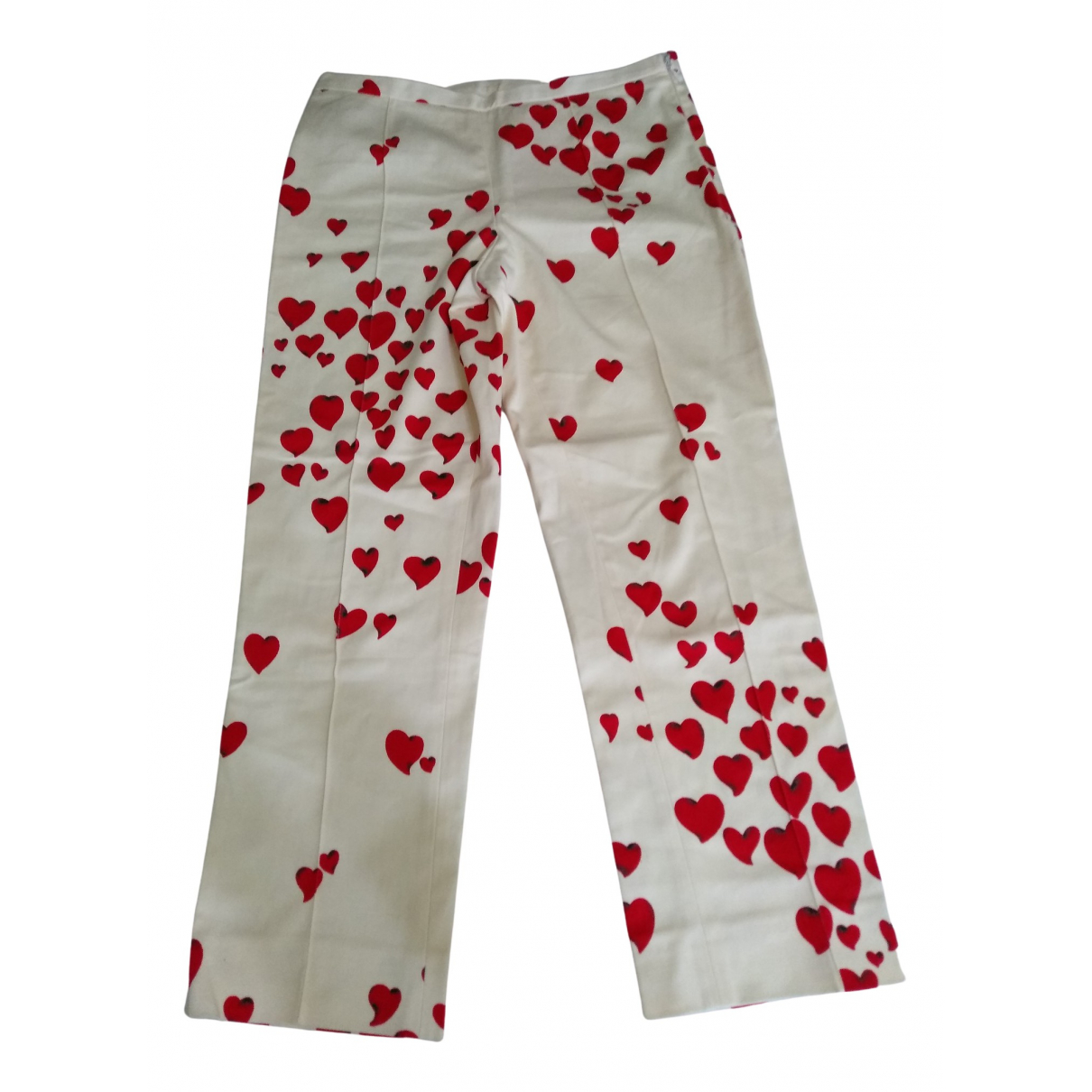 Moschino Cheap And Chic N Cotton Trousers for Women 40 IT