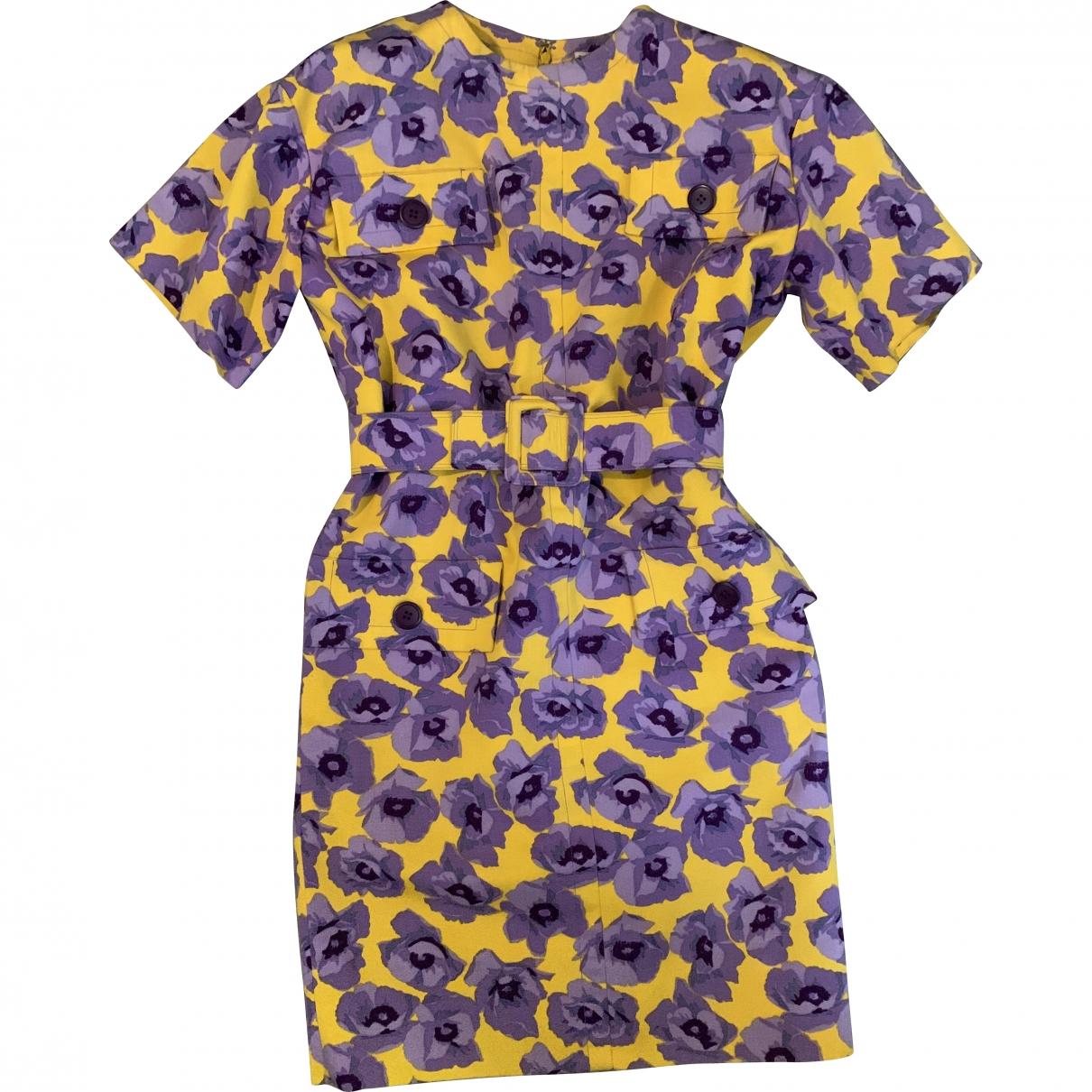 Givenchy \N Kleid in  Bunt Baumwolle