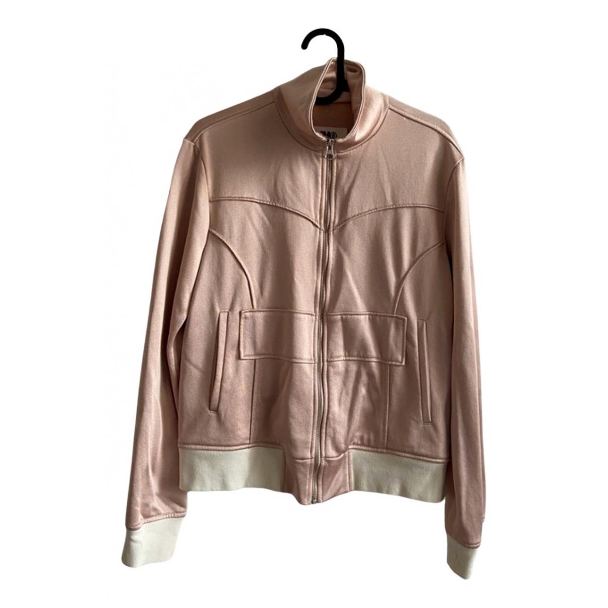 Mm6 - Veste   pour femme en coton - rose