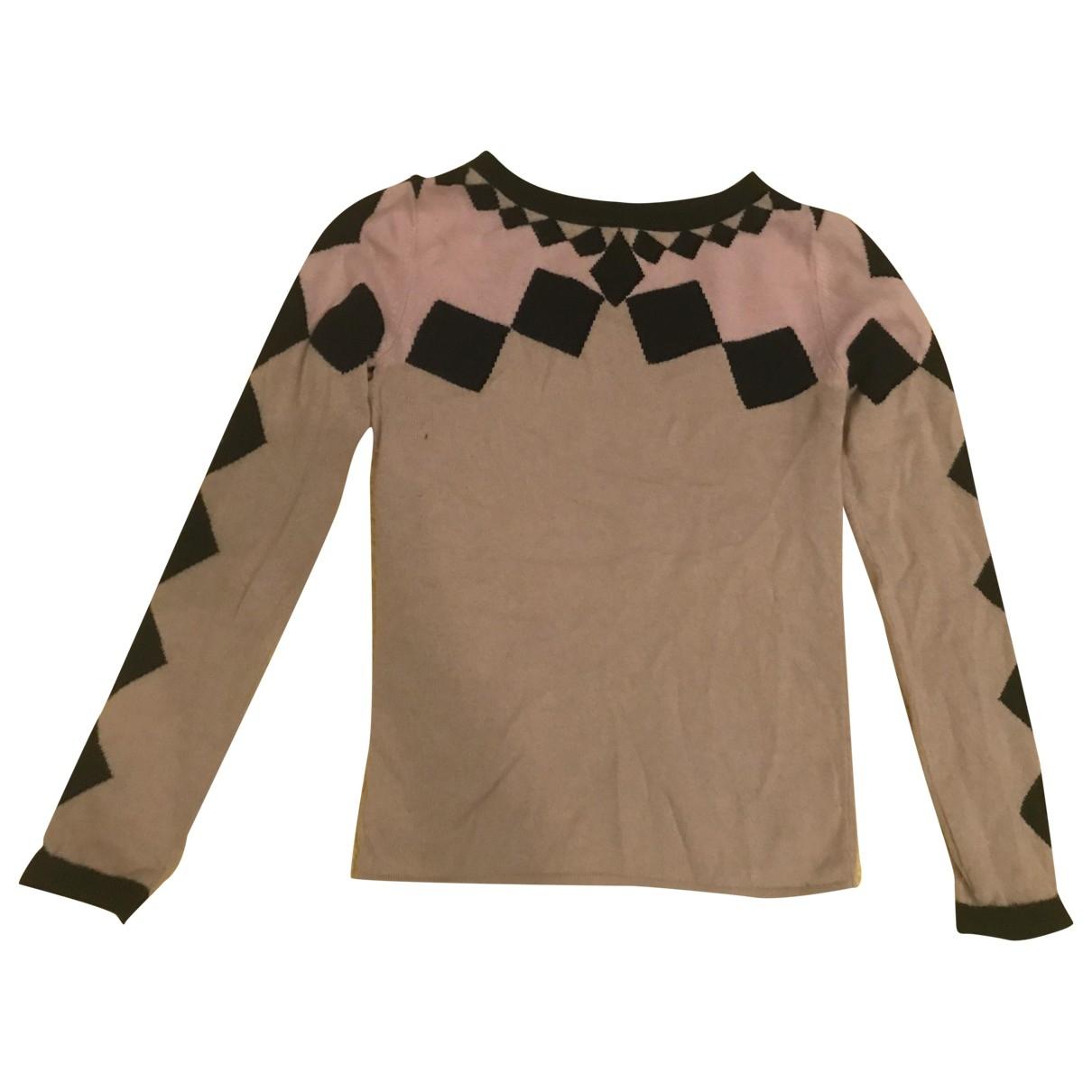 Temperley London - Pull   pour femme en laine - beige