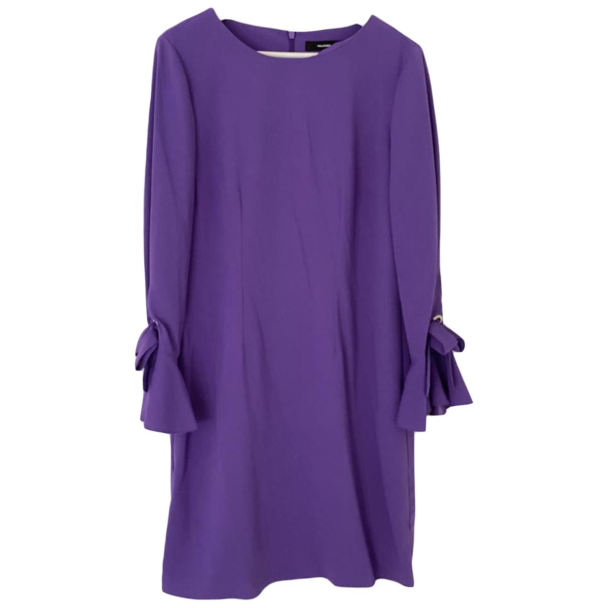 Hallhuber \N Kleid in  Lila Polyester