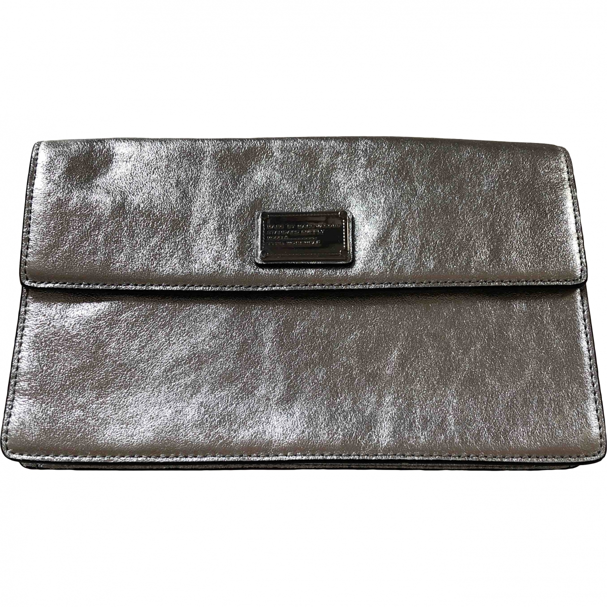 Marc By Marc Jacobs \N Clutch in  Grau Leder