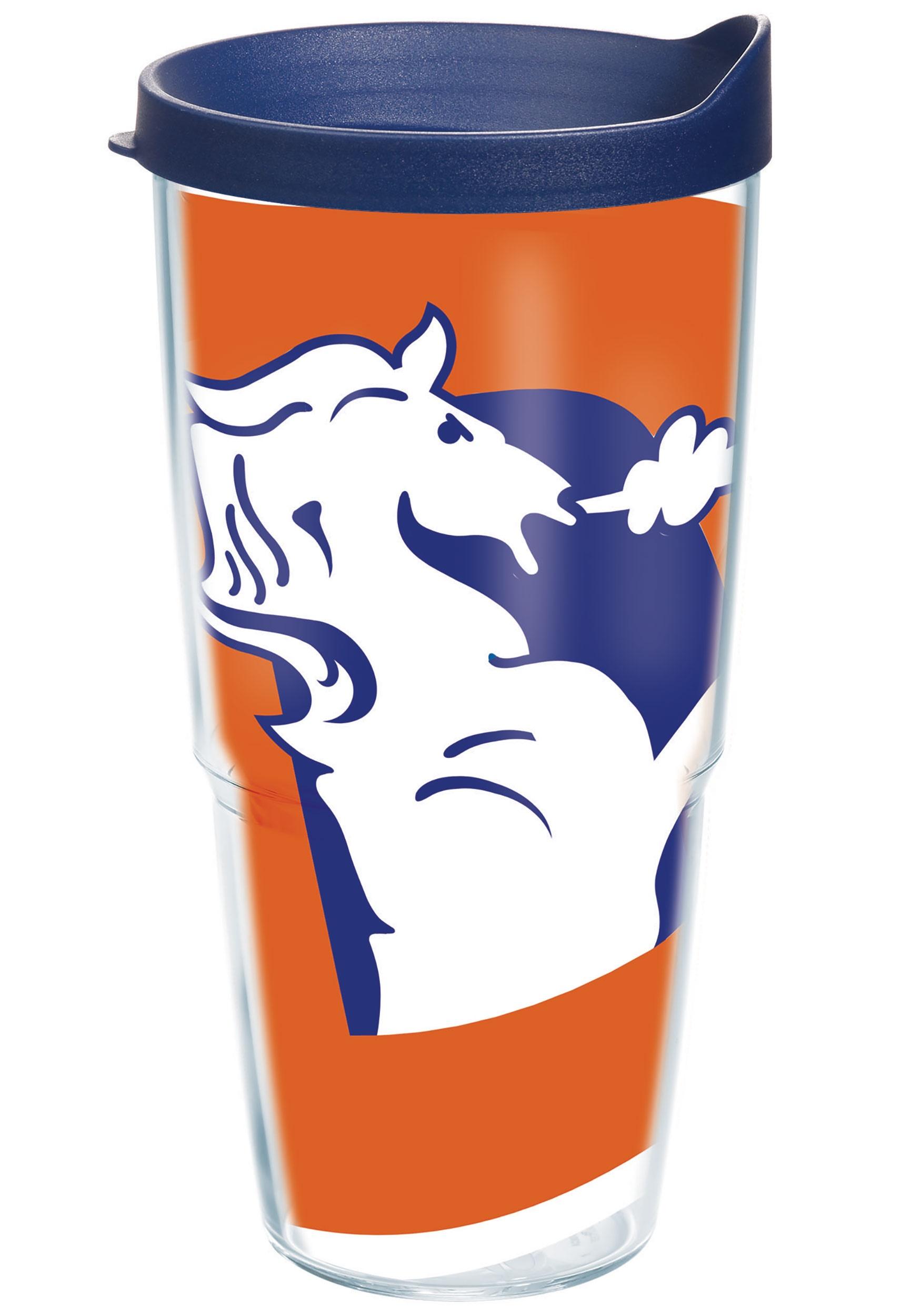 Tervis Denver Broncos 24 oz NFL Legacy Tumbler w/ Blue Lid