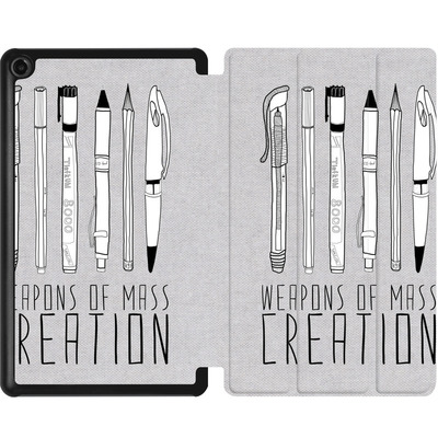 Amazon Fire 7 (2017) Tablet Smart Case - Weapons Of Mass Creation von Bianca Green
