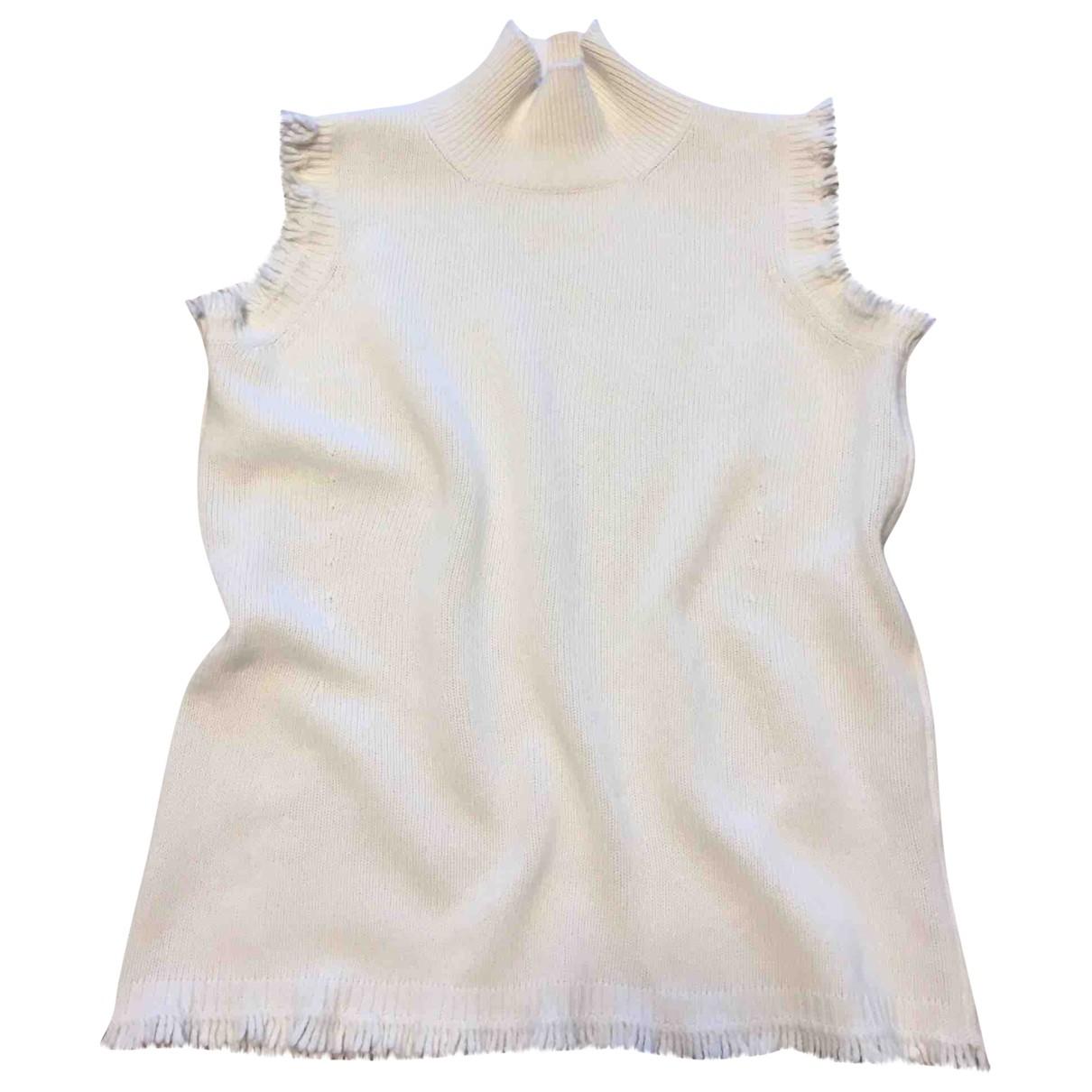 - Top   pour femme en laine - beige