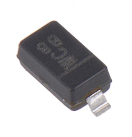 DiodesZetex Diodes Inc, 7.5V Zener Diode 6% 500 mW SMT 2-Pin SOD-123 (200)